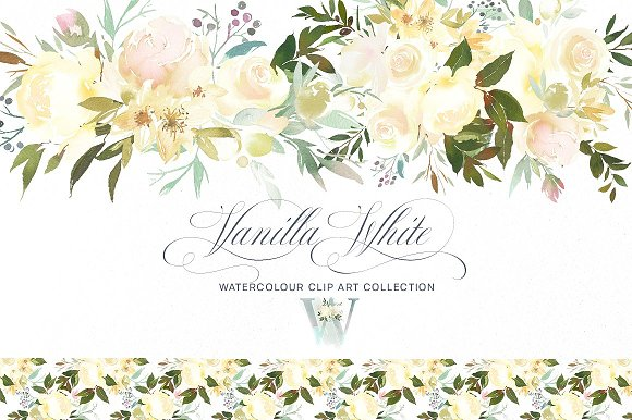 Watercolor Floral Bundle-95% off in Illustrations - product preview 1