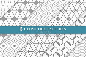 16 Geometric Patterns - 3