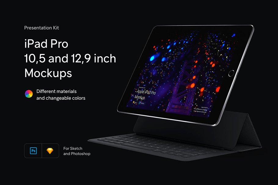 iPad Pro Mockups   Presentation Kit ~ Mobile & Web Mockups