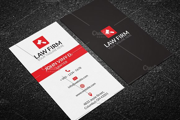 Law business card business card templates creative market law business card business cards reheart Choice Image