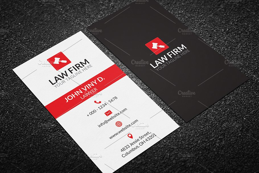 Law business card business card templates creative market pro previous colourmoves