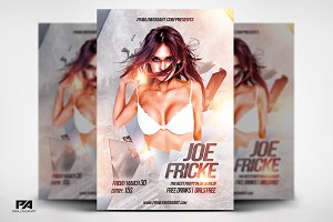 DJ Electro Party Flyer Template