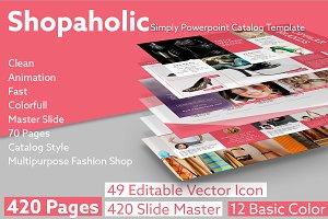 SHOPAHOLIC Simply Powerpoint Catalog