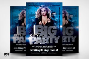 BIG PARTY Flyer Template