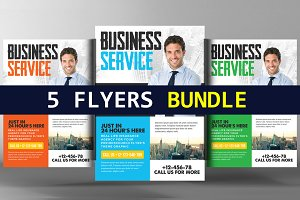 A4 Business Flyer Bundle