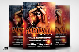 DJ In Concert v2 Flyer Template