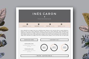 4 Page Resume Template for Word