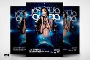 DJ In Concert v3 Flyer Template