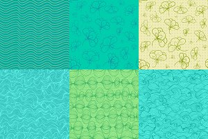 Collection of vector patterns