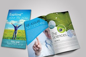 Scientific Medical Bifold Brochure