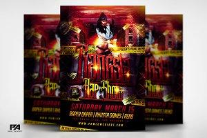 Gangsta Rap Show Flyer Template