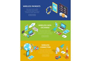 Wireless Payment, Data Exchange and Connection