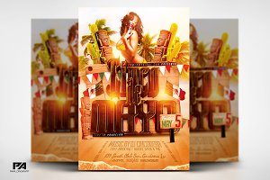 Cinco de Mayo v2 Flyer Template