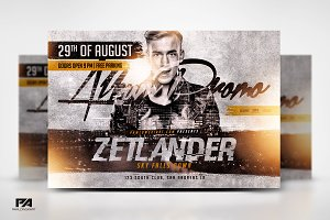 Album Promo DJ Mix v2 Flyer Template
