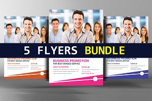 5 Advanced Corporate Business Flyers