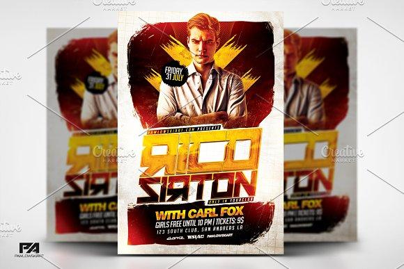 Special Guest DJ V4 Flyer Template