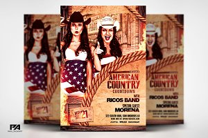 American Country Countdown Flyer