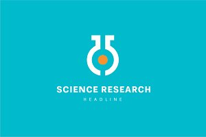 Science research logo.