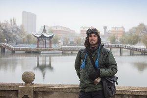 Snow season in China, Huang-long national park