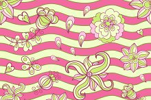 Doodle vector pattern