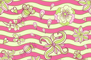 Doodle vector pattern