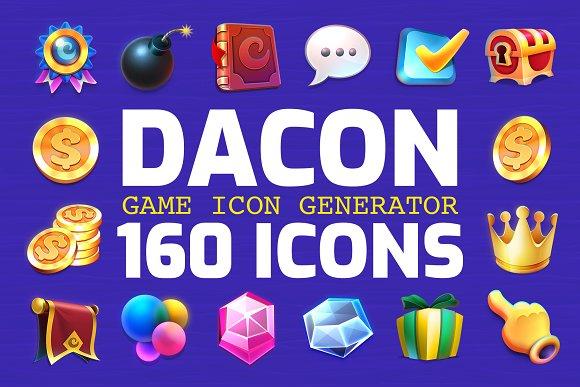 DACON Game Icon Generator