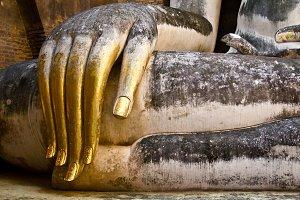 Golden Buddha Hand, Sukhothai