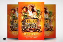 Cinco de Mayo v3 Flyer Template