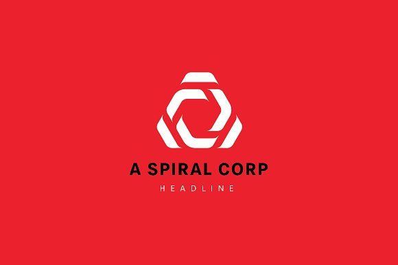 A Spiral Corporation Logo