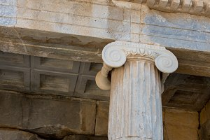 Ionic order, column in ancient Olympia