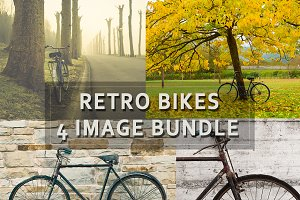 Retro bikes bundle