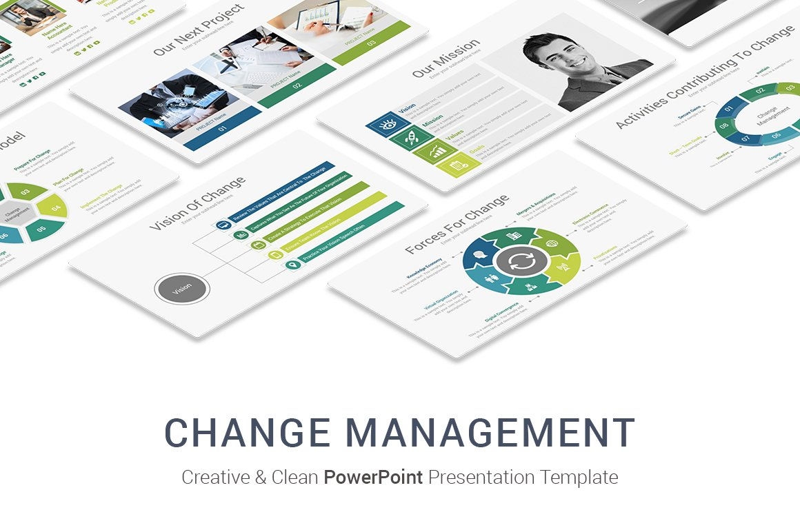 Change management powerpoint designs presentation templates change management powerpoint designs presentation templates creative market toneelgroepblik Image collections