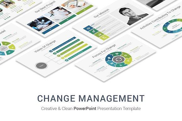 change management powerpoint designs presentation templates
