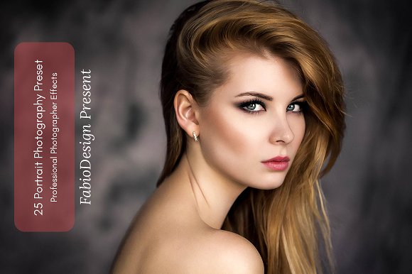 25 Portrait Photography Preset