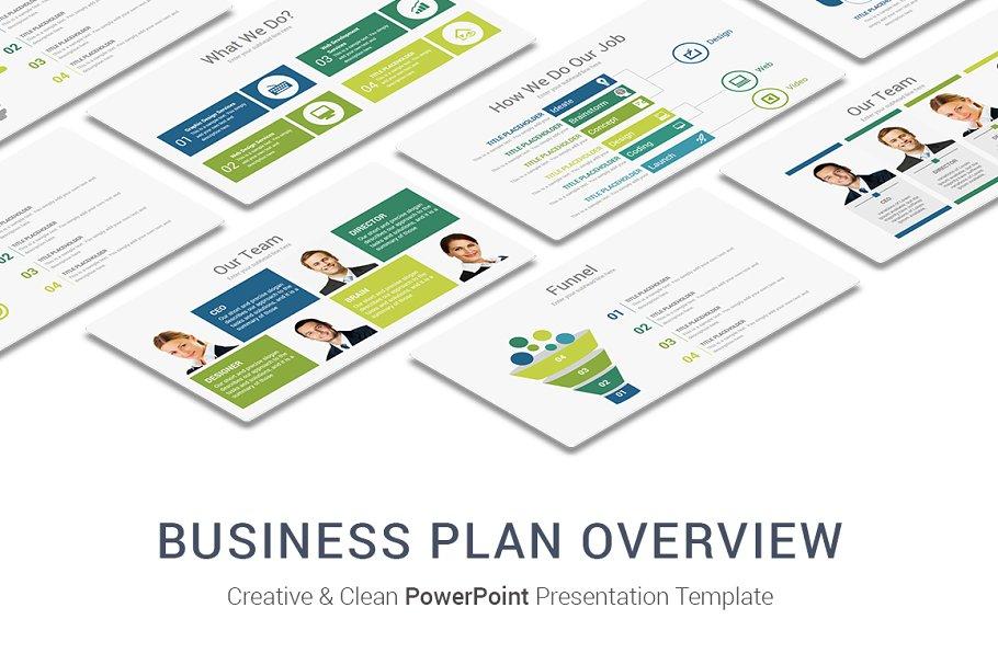 Business Plan PowerPoint Template ~ PowerPoint Templates ~ Creative