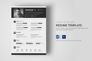 Simple Resume / CV With MS Word
