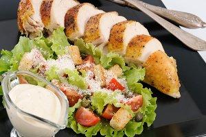 Chicken a la Caesar