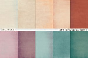 Calypso Sunset Solid Texture Paper
