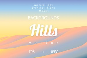Vector Hills Backgroungs