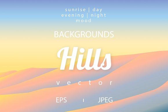 Vector Hills Backgroungs