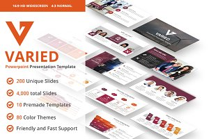 Varied PowerPoint Template