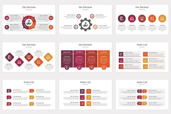 varied powerpoint template presentation templates creative market