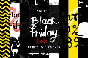 Gouache Black Friday & Sale Designs