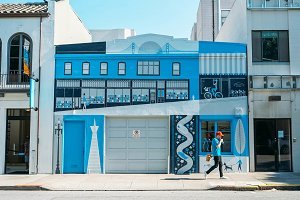 Blue Building, San Francisco