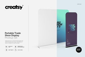 Portable Trade Show Display Mockup S