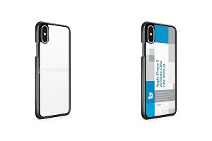 Apple iPhone X 2d PC Colored Mobile