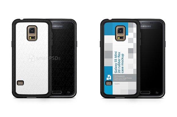 Samsung Galaxy S5 Mini 2d RubberFlex