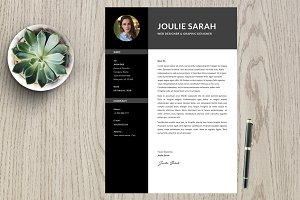 Resume Template 2 page pack | Joulie