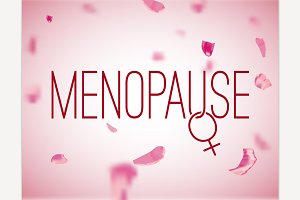 Vector Menopause Background