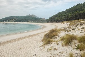 Rodas beach on Cies islands, Galicia